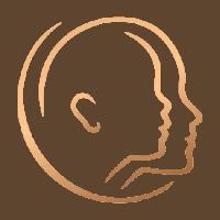 Logo Praxis HNO Phoniatrie Kopf Erwachsener Kind Dresden