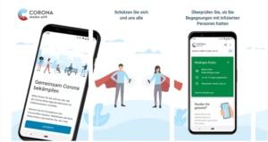 Corona-Warn-App Schema gemeinsam bekämpfen